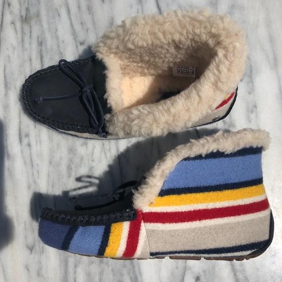 58709537753 Brand New Ugg Yosemite Alena Pendleton Slippers